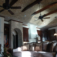 Traditional Family Room by Decorative Wall Designs