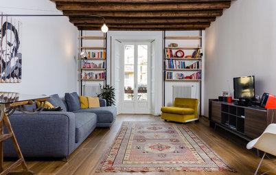 Casas Houzz: La rehabilitación de un piso con mucha historia en Milán