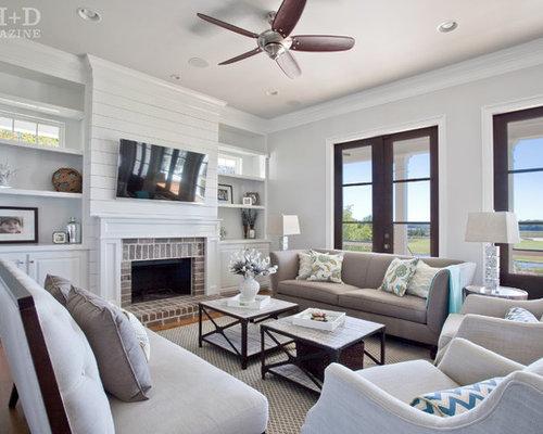 Charleston Family Room Design Ideas, Remodels & Photos   Houzz