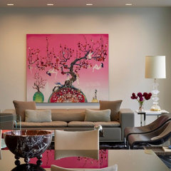 contemporary family room by Incorporated