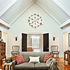 Transitional Family Room by dustin.peck.photography.inc