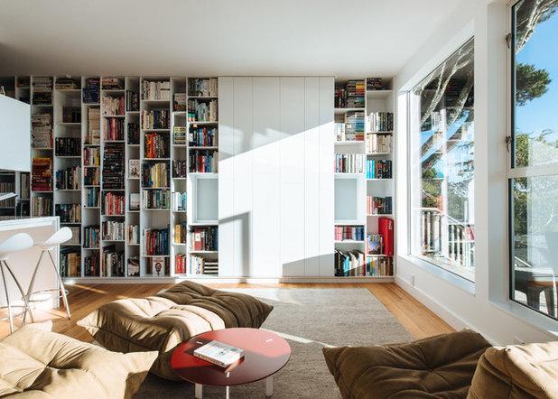 Современный Семейная комната by Forsythe General Contractors, Inc.