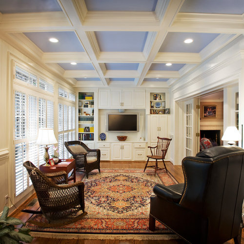 Coffered Ceiling 9 Ft Houzz