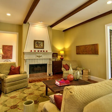 Chapel Hill French Country Custom Home