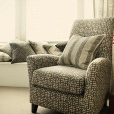 Contemporary Upholstery Fabric by Charles Parsons Interiors