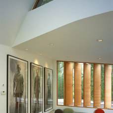 Contemporary Family Room by Charles Rose Architects Inc.