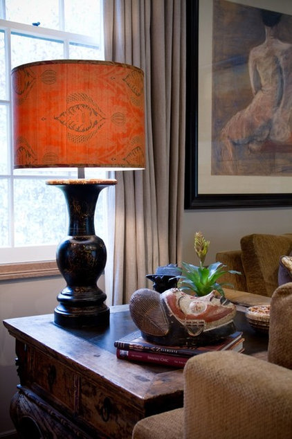 Traditional Family Room by Charmean Neithart Interiors, LLC.
