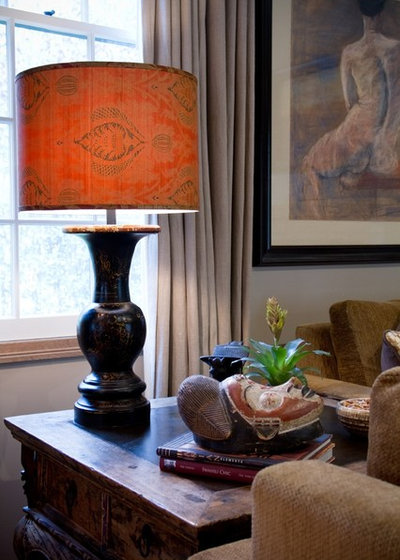 Traditional Family Room by Charmean Neithart Interiors