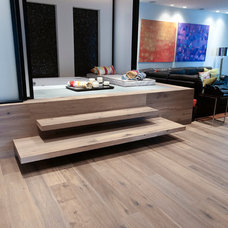 Contemporary Family Room by DuChateau Floors