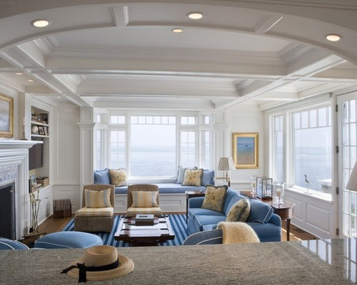 Cape cod interior home design ideas pictures remodel and for Cape cod living room design