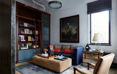Le Case di Houzz: Il Loft Perfetto per Un Gentleman a New York