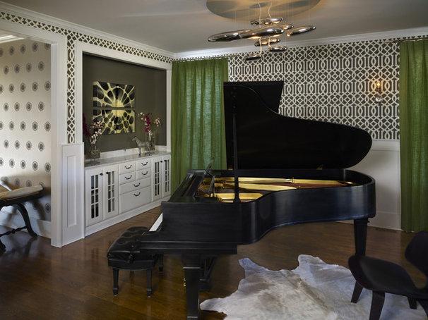 Contemporary Family Room by Andrea Schumacher Interiors
