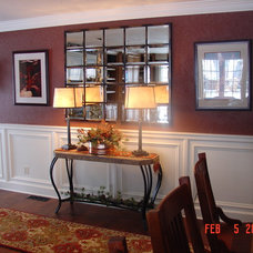 Traditional Family Room by Cheryl Shinabarger