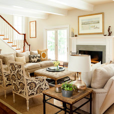 Traditional Family Room by Design Manifest