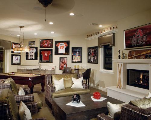 Sports Memorabilia Home Design Ideas Pictures Remodel