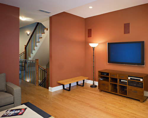 Burnt Orange Walls Houzz