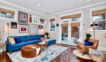 Chicago single family home main floor interior design project