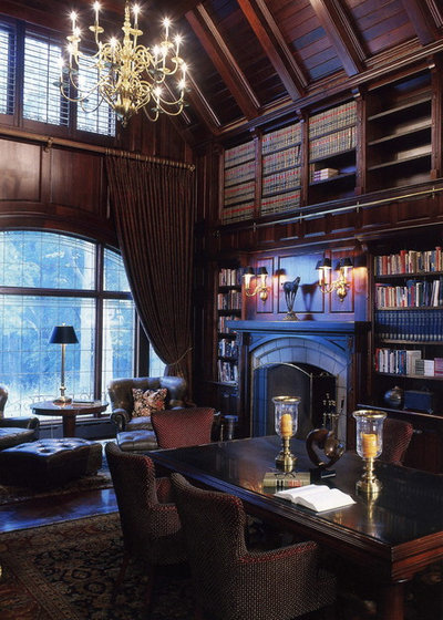 Traditional Family Room by Gensler