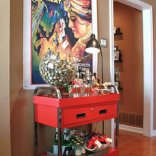 Eclectic Family Room by The Cavender Diary