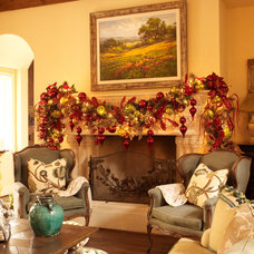 Traditional Family Room by Regina Gust Designs