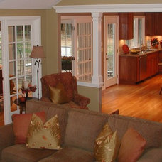 Traditional Family Room by The Churchill Company  MA
