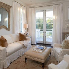 Traditional Family Room by The French Mix Interior Design
