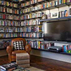 Contemporary Family Room by studioWTA