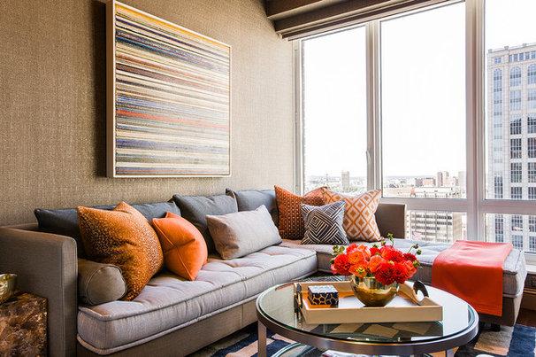 Contemporary Home Office by Terrat Elms Interior Design