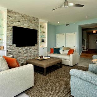 Classic Beach Home-living area
