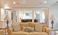 Classic Coastal Colonial Renovation - the Great Room