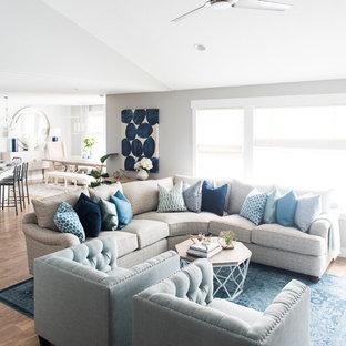 Classic Coastal Home-- Family Room