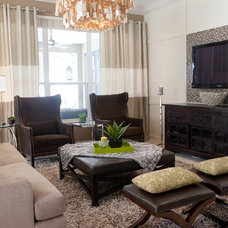 Traditional Family Room by Design Studio 15