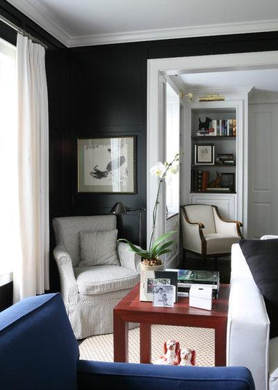 Beautiful Victorian Family Room by LDa Architecture u Interiors