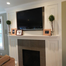 Traditional Family Room by Cheryl D & Company