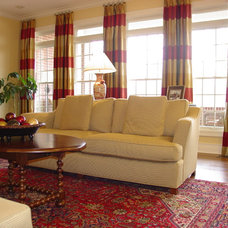 Traditional Family Room by R. Hoskins Interiors