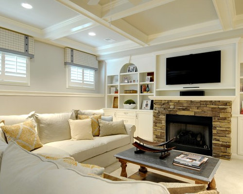 Cool Living Room Staging