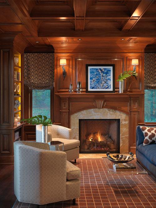 Wood Fireplace Surround Houzz