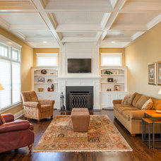 Traditional Family Room by Greenside Design Build LLC