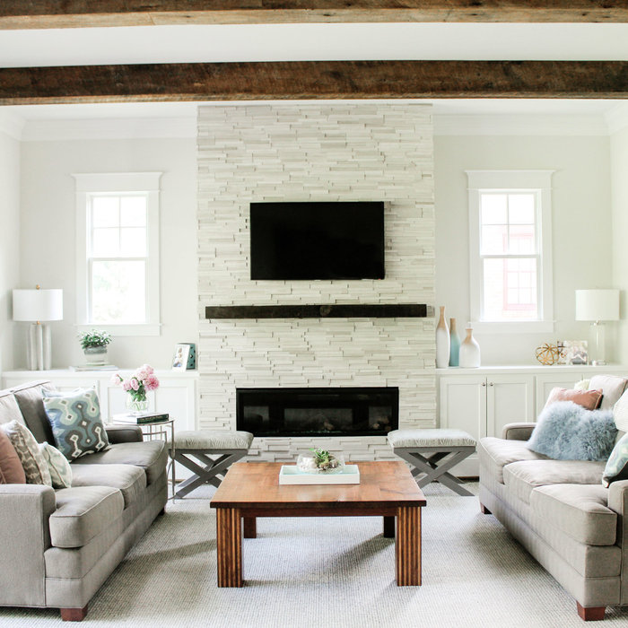 Clean and Bright Family Room