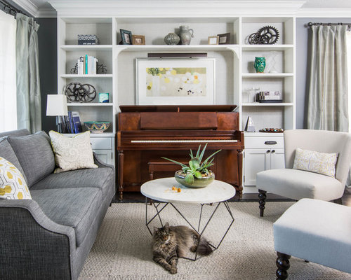 Piano In Living Room Houzz