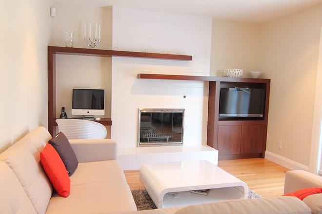 Modern Family Room by Handwerk Interiors