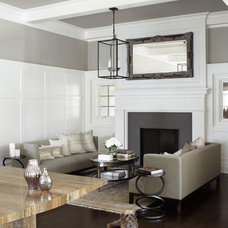 Contemporary Family Room by Michael Abraham Architecture