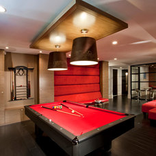 Contemporary Family Room by VictorEric