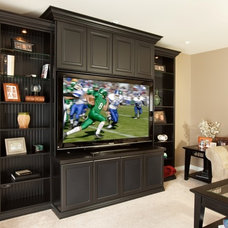 Traditional Family Room by Closet Organizing Systems
