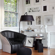 Eclectic Family Room by stephane chamard
