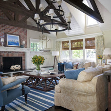 Traditional Family Room by Anthony James Construction