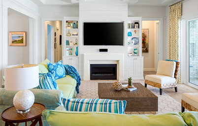 Houzz Tour: Cheery and Colorful in Tampa