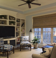eclectic family room by Jane Ann Maxwell
