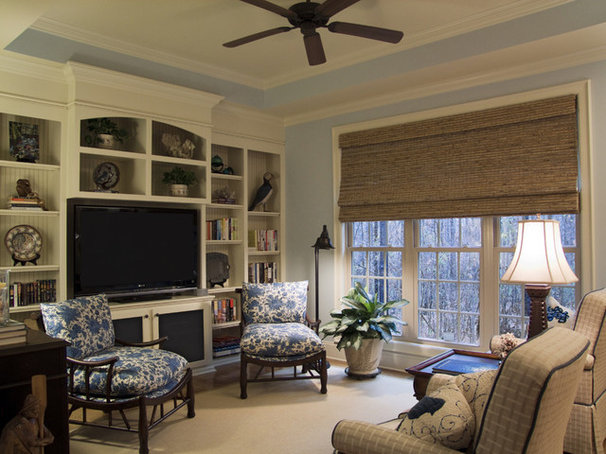 Beach Style Family Room by Jane Ann Maxwell