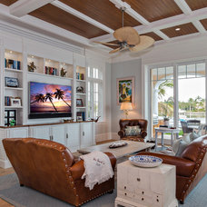 Traditional Family Room by Beres Design Group